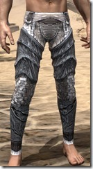 Hlaalu Iron Greaves - Male Front