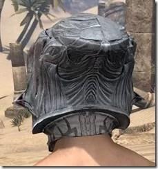 Hlaalu Iron Helm - Male Rear