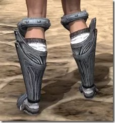 Hlaalu Iron Sabatons - Female Rear