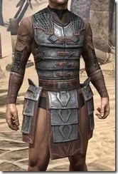 Imperial Steel Cuirass - Male Front