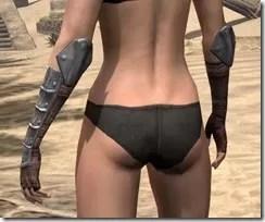 Imperial Steel Gauntlets - Female Rear