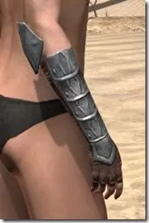 Imperial Steel Gauntlets - Female Right