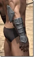 Imperial Steel Gauntlets - Male Right