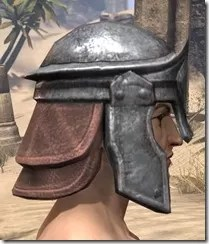 Imperial Steel Helm - Male Right