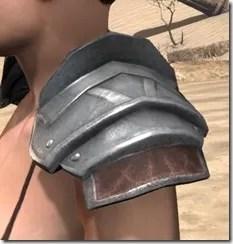 Imperial Steel Pauldrons - Female Side
