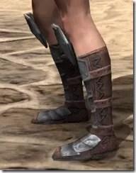 Imperial Steel Sabatons - Female Side