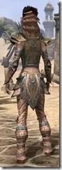 Khajiit Dwarven - Female Rear