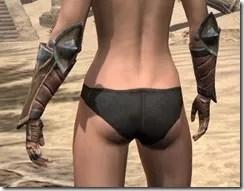 Khajiit Dwarven Gauntlets - Female Rear
