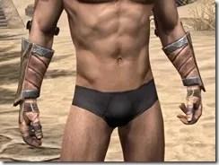 Khajiit Dwarven Gauntlets - Male Front