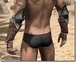 Khajiit Dwarven Gauntlets - Male Rear