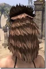 Khajiit Dwarven Helm - Female Rear