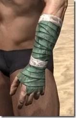 Khajiit Homespun Gloves - Male Side