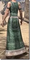 Khajiit Homespun Robe 1 - Female Rear