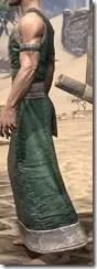 Khajiit Homespun Robe 1 - Male Side