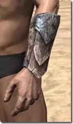 Khajiit Iron Gauntlets - Male Side