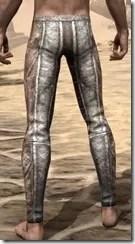 Khajiit Iron Greaves - Male Rear