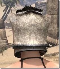 Khajiit Iron Helm - Female Rear