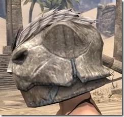Khajiit Iron Helm - Female Side