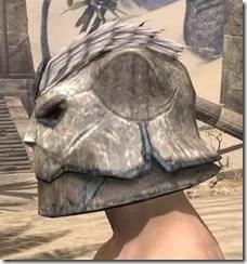 Khajiit Iron Helm - Male Side