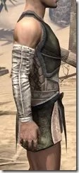 Khajiit Orichalc Cuirass - Male Right