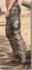Khajiit Orichalc Greaves - Female Side