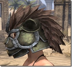 Khajiit Orichalc Helm - Female Side