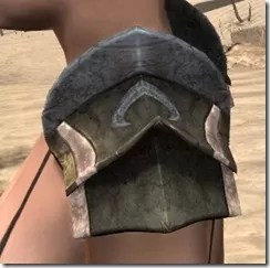 Khajiit Orichalc Pauldron - Female Side