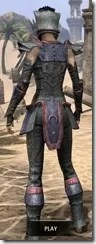 Khajiit Steel - Dyed Rear
