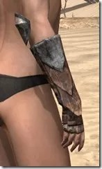 Khajiit Steel Gauntlets - Female Right