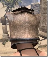Khajiit Steel Helm - Female Rear