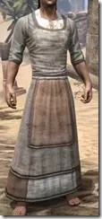 Layered Long Dress - Male Front