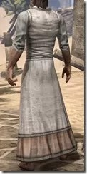 Layered Long Dress - Male Rear