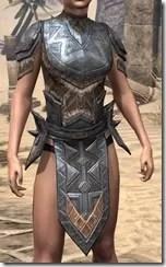 Malacath Iron Cuirass - Female Front