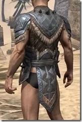 Malacath Iron Cuirass - Male Rear