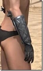 Malacath Iron Gauntlets - Female Right