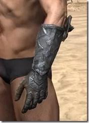 Malacath Iron Gauntlets - Male Side