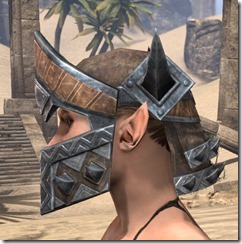 Malacath Iron Helm - Female Side