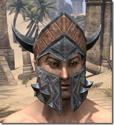 Malacath Iron Helm - Male Front