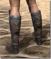 Malacath Iron Sabatons - Male Rear