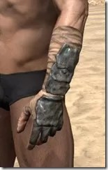 Morag Tong Iron Gauntlets - Male Side