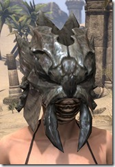 Morag Tong Iron Helm - Female Front