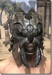 Morag Tong Iron Helm - Male Front