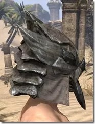 Morag Tong Iron Helm - Male Right
