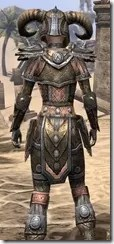 Nord Dwarven - Female Close Rear