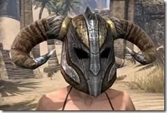 Nord Dwarven Helm - Female Front