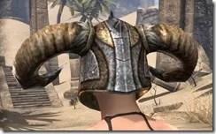 Nord Dwarven Helm - Female Rear