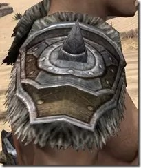Nord Dwarven Pauldron - Male Right
