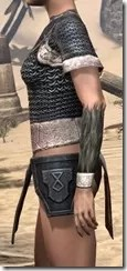 Nord Iron Cuirass - Female Side