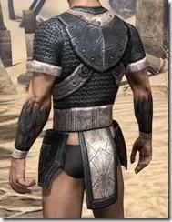Nord Iron Cuirass - Male Rear
