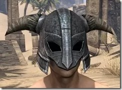 Nord Iron Helm - Male Front